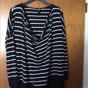 3/$10 H&M cowl neck light sweater